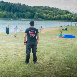Camp Wilsonka, Dalešická přehrada