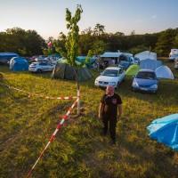 Premium camp při MOTO GP Brno