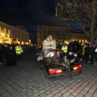 Pochod čertů ulicemi Retzu