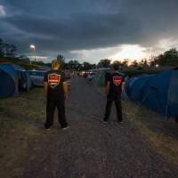 Camp na Výrovické přehradě